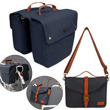 Cycling Bike Double Panniers Bag Rear Rack Market Pack/Single Laptop Bag-TOURBON