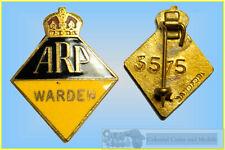 Queensland Civil Defence Badge WWII :- A.R.P. Warden