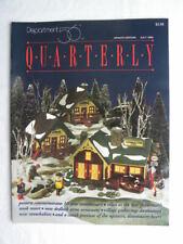 Dept. 56 July 1994 Quarterly Magazine Update Edition