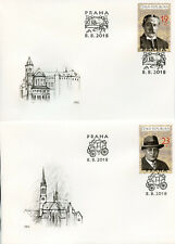 Czech Rep 2018 FDC Postal Museum Praga 2018 3v on 3 Covers People Museums Stamps
