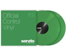 "SEALED NEW Green Serato Control Vinyl- 12"" Pair"