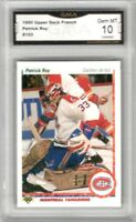 1990-91 Upper Deck French #153 Patrick Roy | Graded GEM MINT 10