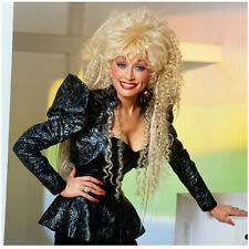 Dolly Parton in Black Suit Jacket Big Shoulders and Big Hair 8 x 10 inch photo