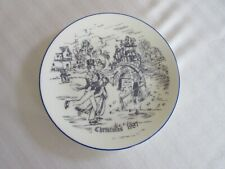 Coalport plate.  1987 Christmas Display Plate.