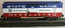 1998 AF 6- 48333 LCI American Flyer 982 Red, White, & Blue BAR Maine Boxcar.