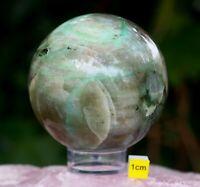 Large GREEN MOONSTONE POLISHED SPHERE - 580g / 75mm Diameter - Australia