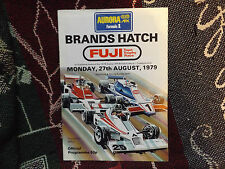 1979 BRANDS HATCH PROGRAMME 27/8/79 - AURORA BRITISH - FUJI TAPE TROPHY