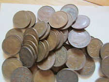 Roll of 1952 Canada Small Cents (50 Coins)