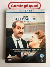 Allo Allo Series 1 & 2 DVD, Supplied by Gaming Squad