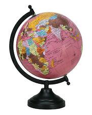 ROTATING WORLD MAP GLOBES TABLE DECOR OCEAN GEOGRAPHICAL EARTH DESKTOP GLOBE3797