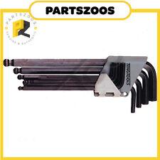 Teng Tools AF Imperial Hex Allen Key Wrench Set 9pce 1479AF