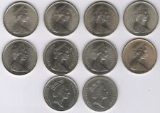 More details for collection of elizabeth ii five pence coins | british coins | pennies2pounds