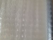 Vinyl Carpet Runner Protector  68 x 150 cm - Wave Pattern