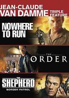 Jean-Claude Van Damme Triple Feature DVD Charlton Heston