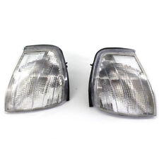 Pair Clear Parking Signal Indicator Corner Light For Benz C Class W202 94-00 4DR