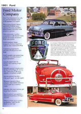 1951 Ford + Convertible + F-1 V8 Pickup Truck Article - Must See !!