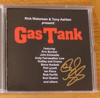 CD Box Set: Rick Wakeman : Gas Tank : 3CDs SIGNED  Lynott, Parfitt, Ashton, Wood