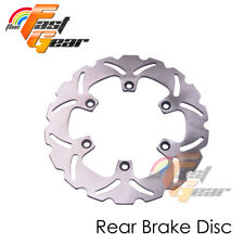 Solid Rear Brake Disc Rotor x1 For Yamaha TDM 900 02 03 04 05 06 07 08 09 10