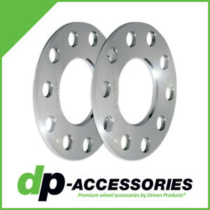 5mm Press-On Lug Centric Wheel Spacers 5x108 5x114.3 67.1mm - 2 Pack