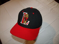 Lions Baseball Black/Red Hat Fitted 7 5/8 Twin City Brand MiLB? College?