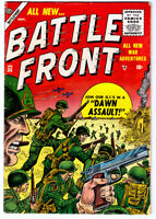 BATTLE FRONT #35 in FN/VF condition a 1955 Atlas Golden Age WAR comic