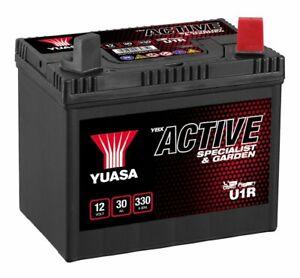 Yuasa YBX Active U1R Lawn Mower / Garden Machinery Battery 12V 30Ah