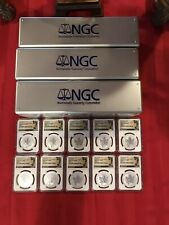 2016 Lot Of 10 CanadaSilver Maple Leaf BIGFOOT Privy Mark - NGC PF69 First Day