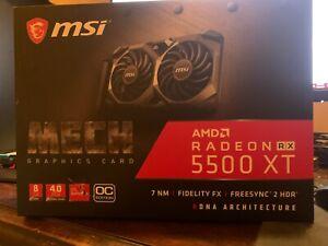 MSI Radeon RX5500XT Mech OC 8gb