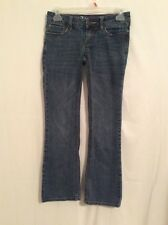 Bullhead Laguna Bootcut Low Rise sz 00 Short Womens Blue Jeans Denim 090233