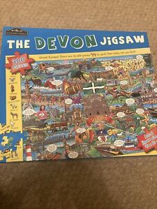 "The Devon Jigsaw Puzzle 300 Pieces by Hometown World in ""VGC"""