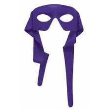 Purple Eye Mask With Ties Eyemask TMNT Donatello Mardi Gras Accessory