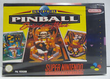SUPER PINBALL BEHIND THE MASK - SNES SUPER NINTENDO PAL BOXED