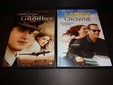 EVERY TIME WE SAY GOODBYE & LARRY CROWNE-2 DVDs-TOM HANKS, JULIA ROBERTS-Romance