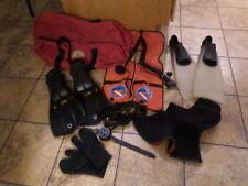 scuba gear lot