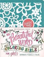 NIV, Beautiful Word Coloring Bible for Girls, Leathersoft over Board, Teal: Hund