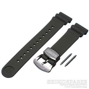 Seiko Watch Band SRPE05 SBDY051 SRP777 SRP779 SRPB11 SRPB53 Green 22 mm Silicone