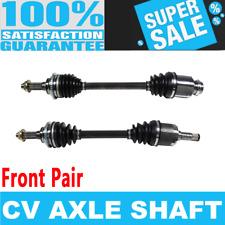 2x Front CV Axle Shaft for PROTEGE  L4 1.6L 1.8L 2.0L Automatic Transmission
