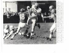 Jim Brown Cleveland Browns vs. Philadelphia Eagles 1963 UPI Telephoto Photo