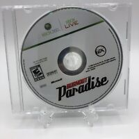 SEE PHOTOS Burnout Paradise (Microsoft Xbox 360, 2009) Disc Only! Tested Works