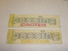 "SET 2 ADESSIVI - DECALO ""PASSING-CAGIVA"" 125 --- 800078140"