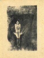 🌓 ROPS BARBEY D'AUREVILLY | Le plus bel amour de Don Juan | eau-forte sur Japon