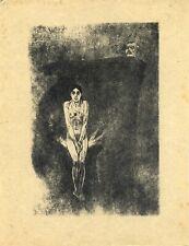 🌓 ROPS BARBEY D'AUREVILLY   Le plus bel amour de Don Juan   eau-forte sur Japon