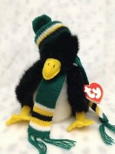 WADDLESWORTH THE PENGUIN TY ATTIC TREASURES PVC PELLET CHINA PLUSH WITH TAG