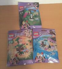 LEGO Friends Animal Set 41047,41048,41049 Seal,Lion Cub,Panda (new Series 6)