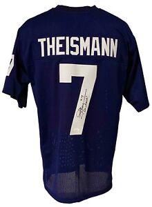 "Notre Dame Fighting Irish Joe Theismann Autographed College Style Jersey ""'Go..."