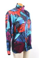 ESCADA Margaretha Ley 100% Silk Blouse Shirt Women's Size 36
