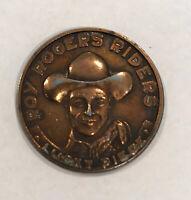 Good Luck Token, Roy Rogers Riders Lucky Piece, 1950's