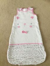 Infant Baby Girl Padded Cotton Sleeping Bag Nest Pod Cocoon 6-12 M Height 80 Cm