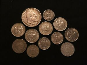 Germany, Collection of 27x Coins & Tokens, 19th-20thC