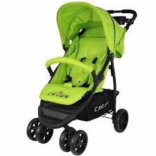 13ba73b00 St560 Crown Pushchair silla de paseo Sport Jogger High Quality Colour verde